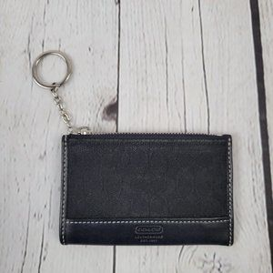 Coach Coin Keychain Purse & ID Holder
